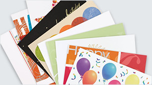 Custom cards for birthdays, holidays, sympathy & more