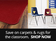 Save on Carpets & Rugs for the Classroom