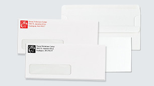 1-Color Window Envelopes