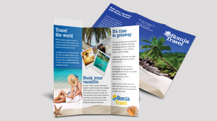 Brochures with Tri-Folds, Bi-Folds, C-Folds & More