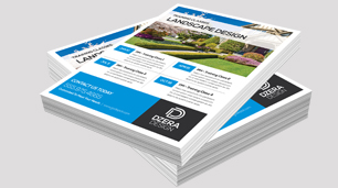 Custom flyer design & printing offer a great way to reach large audiences.