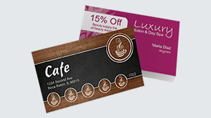 Loyalty card templates, design & printing