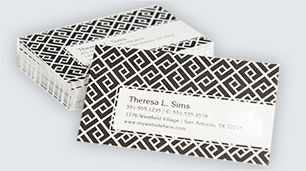 Custom business cards that offer a professional look for any situation