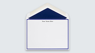 note cards traditional and personalized note cards perfect for any situation - Personalized Stationery Cards