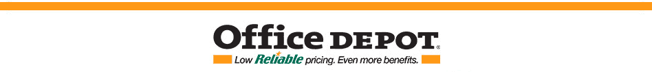 Office Depot low Reliable pricing Even more benefits