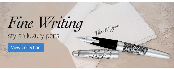 Fine Writing stylish luxury pens