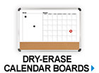 Dry-Erase Calendar Boards