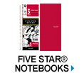 Five Star Notebooks