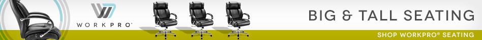 Work Pro Big & Tall Seating