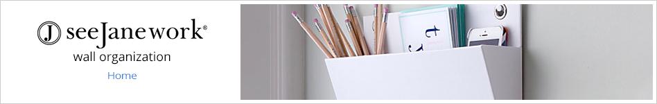 See Jane Work - wall-organization