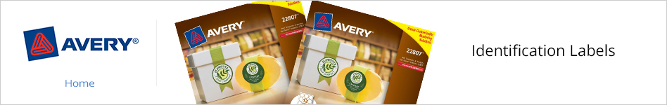 Avery Identification Labels