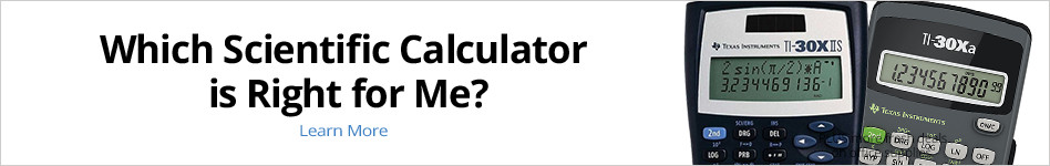 Which scientific calculator is right for me?