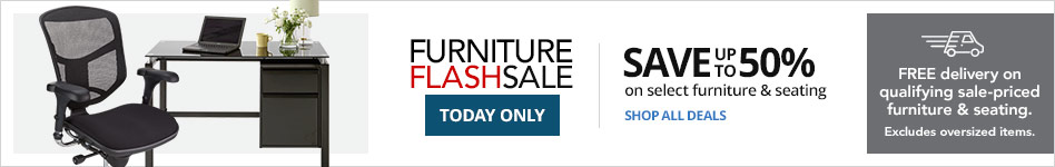 Furniture Flash Sale- Save Up to 50% on select Furniture & Seating