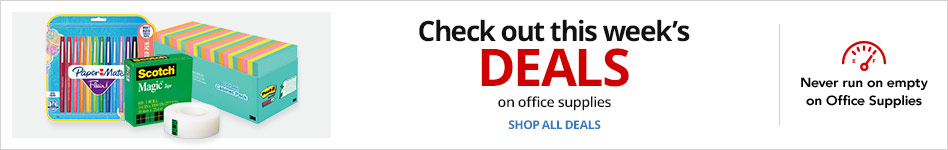 Check out this week's office supplies deals!