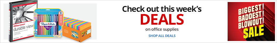Check out this week's Office Supplies Deals