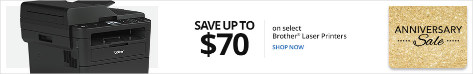 Save up to $70 on select Brother Laser Printers