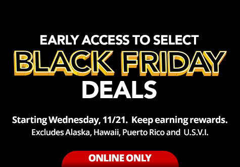 Early Access Black friday Deals