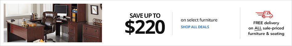 Save up to $220 select furniture