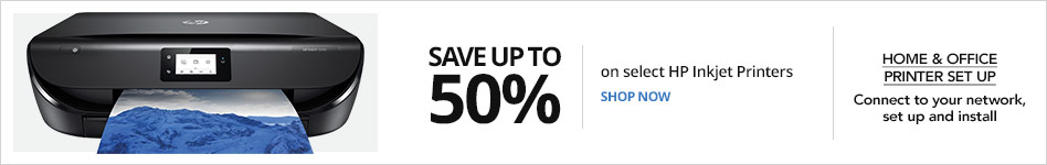 Save up to 50% on select HP Injket Printers