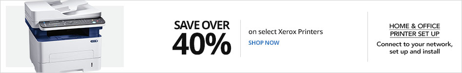 Save over 40% on select Xerox Printers