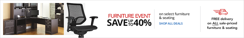 FURNITURE EVENT- Save up to 40% on select Furniture & Seating