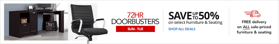 FURNITURE EVENT- 72HR Doorbusters- Save 50% on select Furniture & Seating