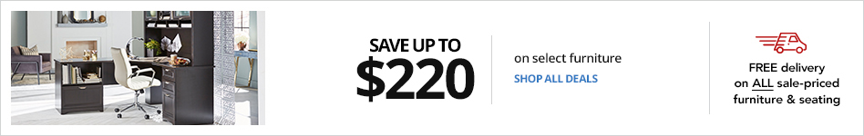 Save up to $220 on select furniture
