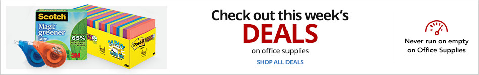 Check out this week's deals on Office Supplies
