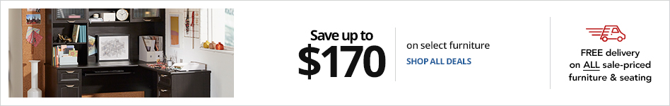 Save up to $170 on select furniture