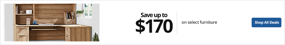 Save up to $170 select furniture