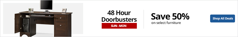 48HR Doorbusters- Save up to 50% select furniture
