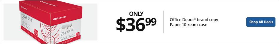 $36.99 Office Depot Brand Copy 10RM Case