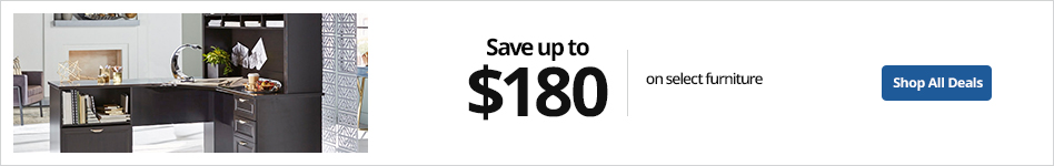 Save up to $180 select furniture
