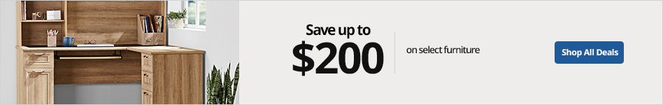 Save up to $200 on select furniture