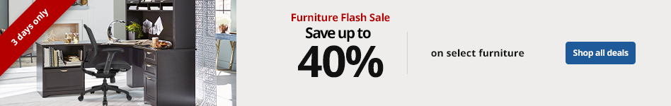 Flash Sale - Save up to 40% on Furniture