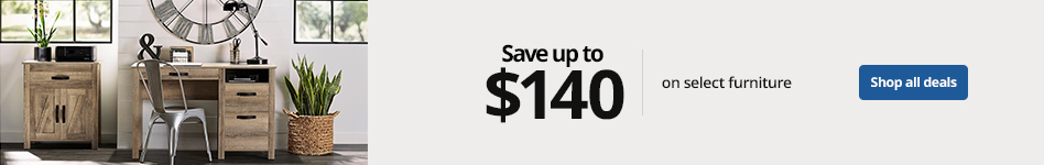 Save up to $140 on select Furniture