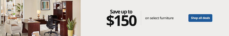 Save up to $150 on select furniture