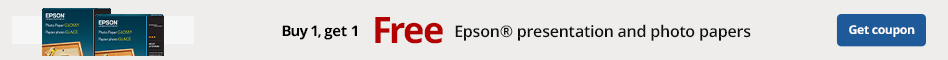 Buy One Get One Free Epson Presentation and Photo Papers
