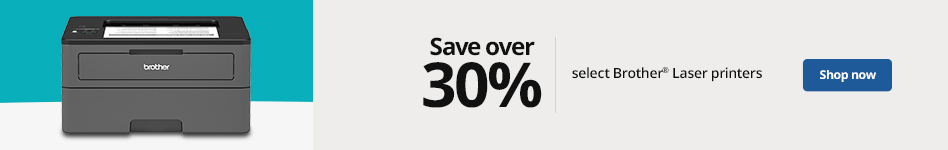 Save over 30% on Brother Laser printers