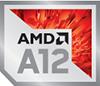 AMD A12 Processor Badge