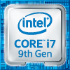 Intel Core i7 9th Gen Processor Badge