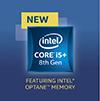 Intel Core i5+ 8th Gen Processor With Optane Badge