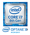 Intel Core i7 8th Gen Processor With Optane Badge