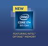 Intel Core i7+ 8th Gen Processor With Optane Badge