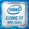 Intel Core i7 8th Gen Processor Badge