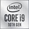 Intel Core i9 10th Gen Processor Badge