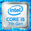 Intel Core i5 7th Gen Processor Badge