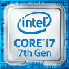 Intel Core i7 7th Gen Processor Badge