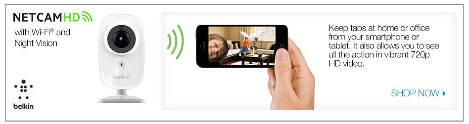 netcam HD with wifi and night vision