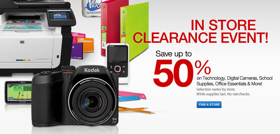 In Clearance Event